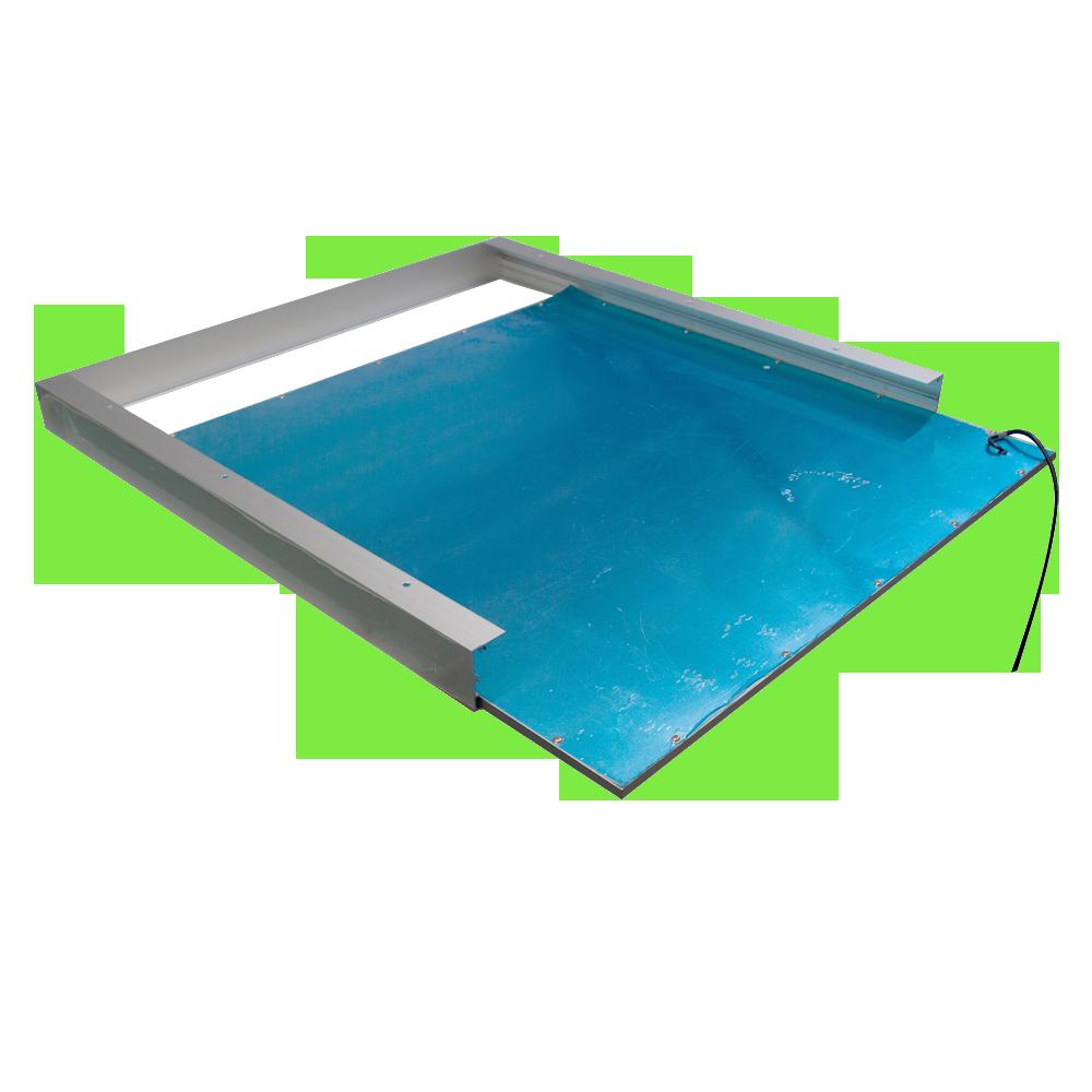 led panel aufputz montagerahmen 620x620mm. Black Bedroom Furniture Sets. Home Design Ideas