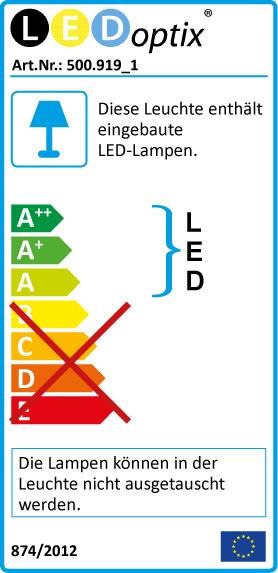 LED Alu Wannenleuchte IP65 60cm 22W 2100lm 5000K ,CN-Hallenlicht