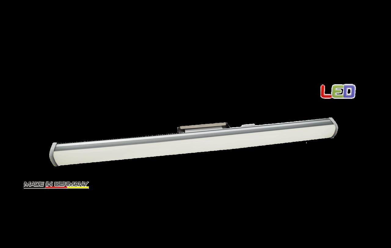 led alu langfeldleuchte ip54 150cm 150w 4000k dimmbar. Black Bedroom Furniture Sets. Home Design Ideas
